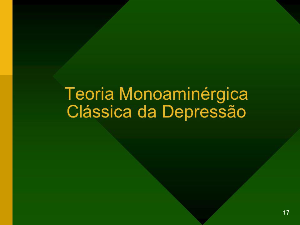 17 Teoria Monoaminérgica Clássica da Depressão
