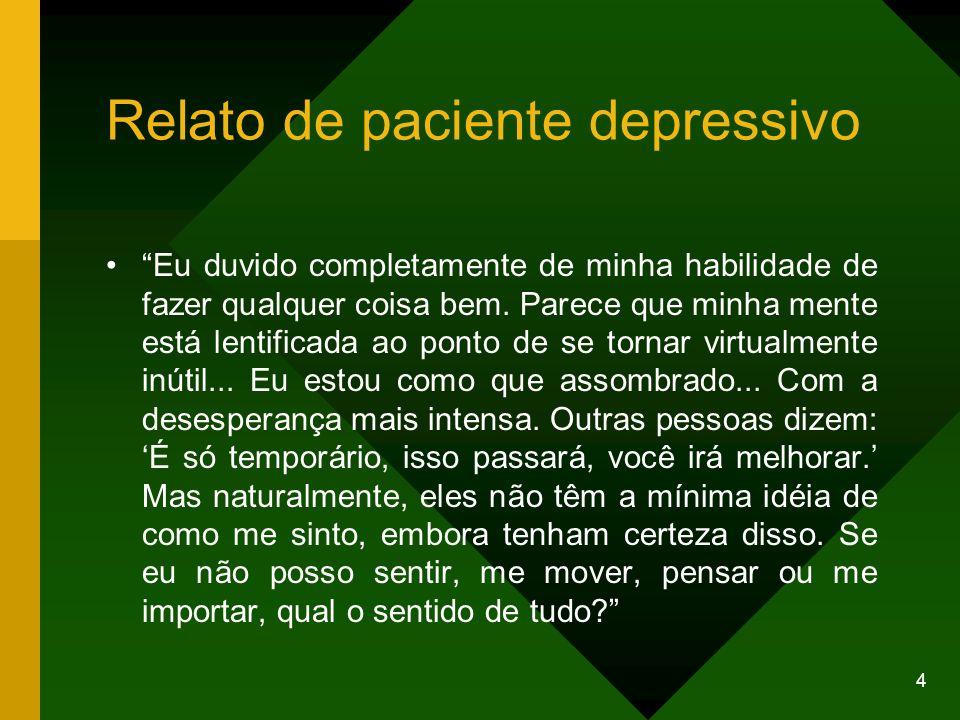 5 Por que algumas pessoas têm depressão.Os neurotransmissores ajudam a controlar as emoções.