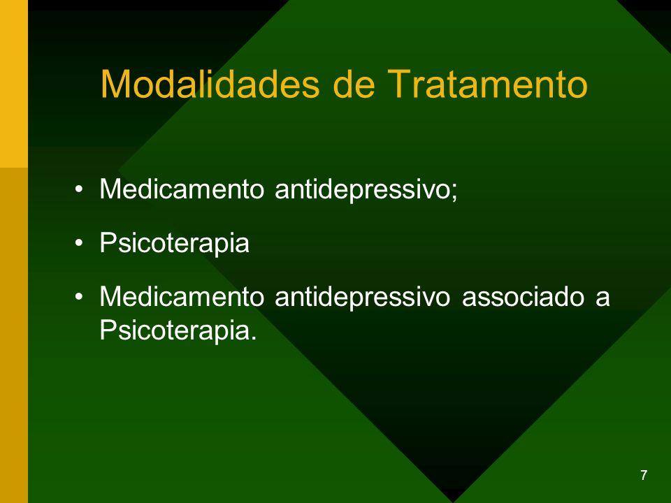 28 Drogas antidepressivas sofrem biotransformação no fígado, que pode resultar, em alguns casos, em metabólitos ativos.