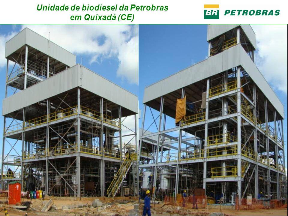 Unidade de biodiesel da Petrobras em Quixadá (CE)