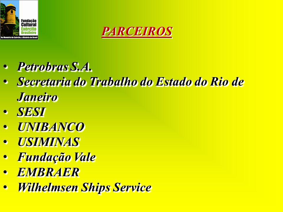 Petrobras S.A. Petrobras S.A. Secretaria do Trabalho do Estado do Rio de Janeiro Secretaria do Trabalho do Estado do Rio de Janeiro SESI SESI UNIBANCO