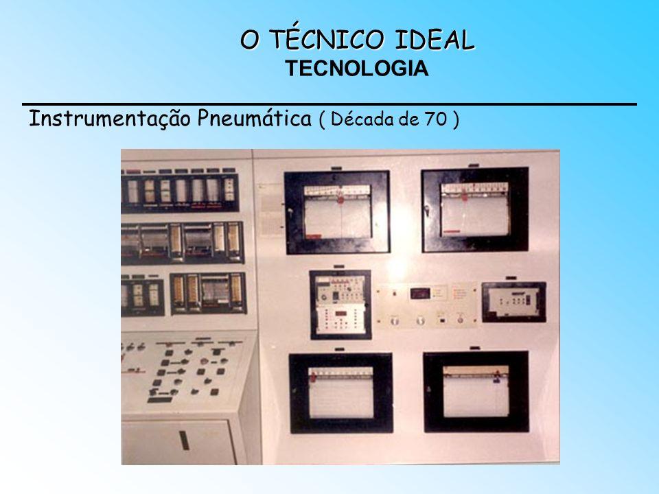 O TÉCNICO IDEAL O TÉCNICO IDEAL TECNOLOGIA Instrumentação Pneumática ( Década de 70 )