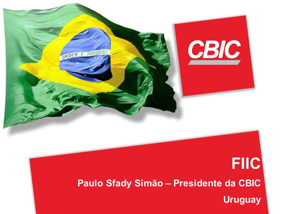 FIIC Paulo Sfady Simão – Presidente da CBIC Uruguay