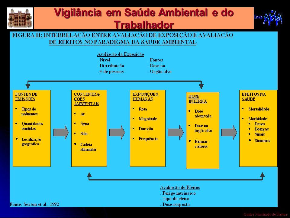 Vigilância em Saúde Ambiental e do Trabalhador Carlos Machado de Freitas