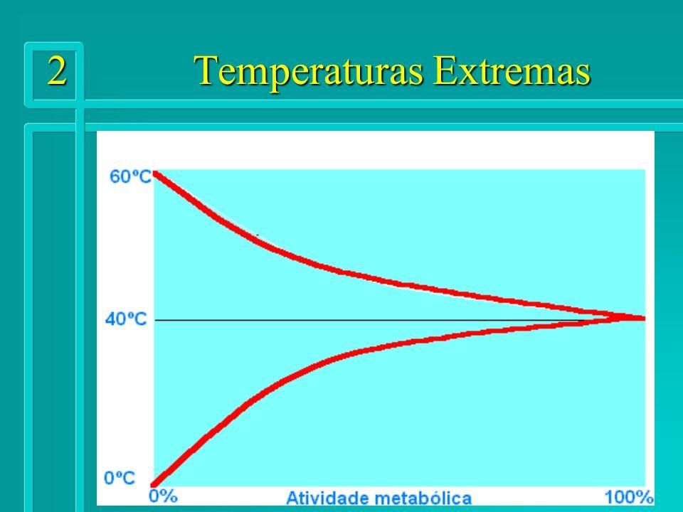 13 Temperaturas Extremas Principais fatores que influem nas trocas térmicas Calor radiante (fontes que emitem R.I.V.).