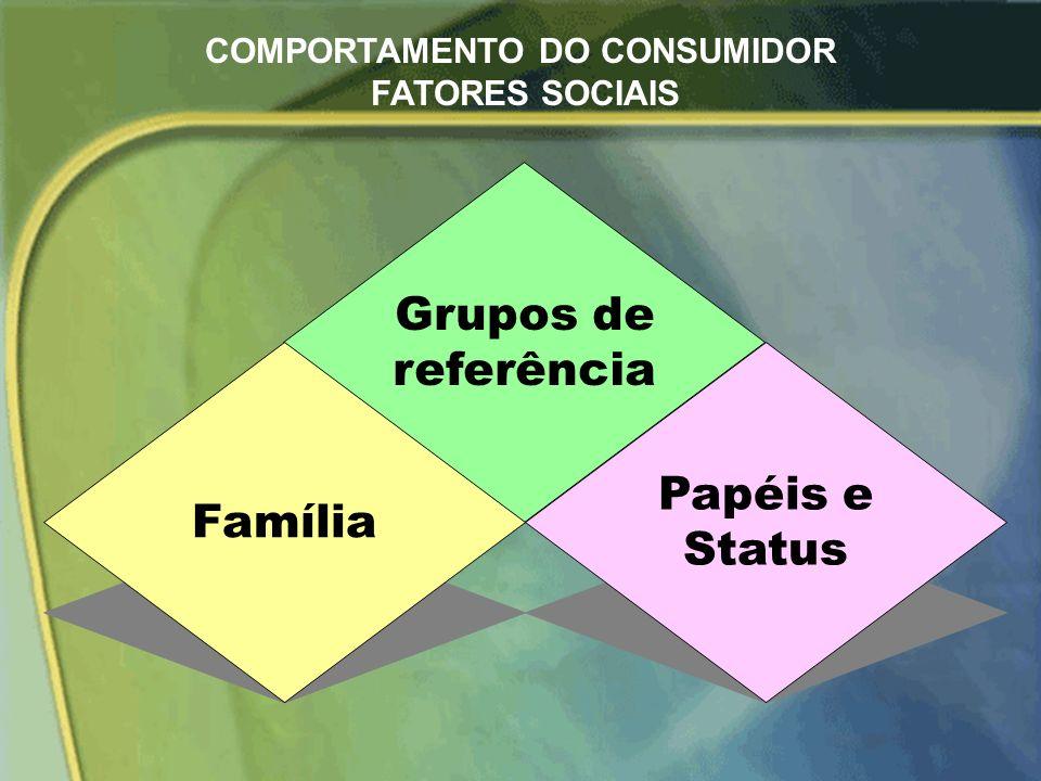 Cultura Subcultura Classe social Comprador COMPORTAMENTO DO CONSUMIDOR FATORES CULTURAIS