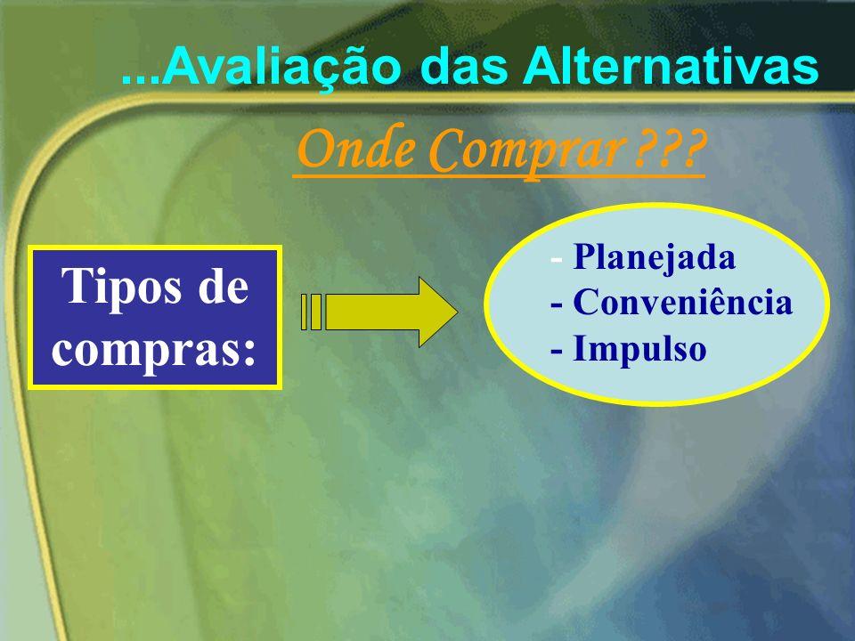 3) Avaliação das Alternativas de Produto 3 critérios são utilizados características funcionais satisfação emocional benefícios de uso e posse A) Carac