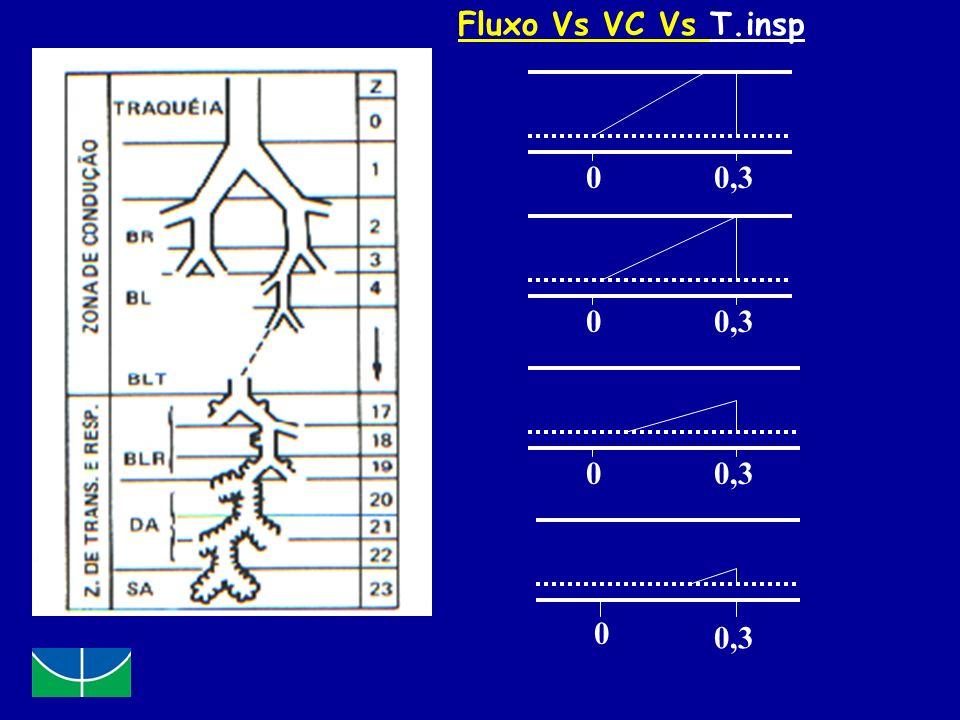 0 0 0,3 0 0 Fluxo Vs VC Vs T.insp