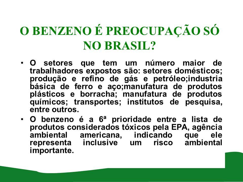 Produtoras ou Petroquímicas de Primeira Geração Empresa Localização Capacidade instalada em 2001/2006 (toneladas/ano) BRASKEM (ex- COPENE ) Camaçari – Bahia455.000 / 427.000 BRASKEM ( ex- COPESUL ) Triunfo – Rio Grande do Sul 265.000 / 265.000 PETROBRAS (RPBC) Cubatão – São Paulo 34.100 / 30.076 BRASKEM ( ex- QUATTOR; ex- PETROQUÏMICA UNIÃO) Santo André – São Paulo 200.000 / 200.000 Total 954.100 / 922.076 Fonte: Anuário Brasileiro da Industria Química - ABIQUIM
