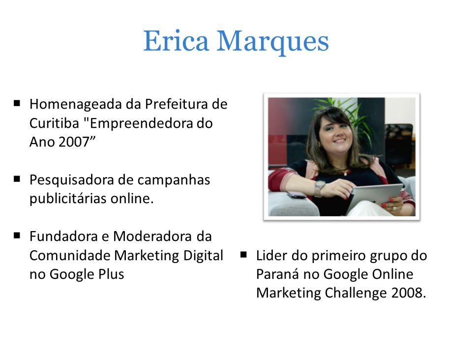 Erica Marques Homenageada da Prefeitura de Curitiba