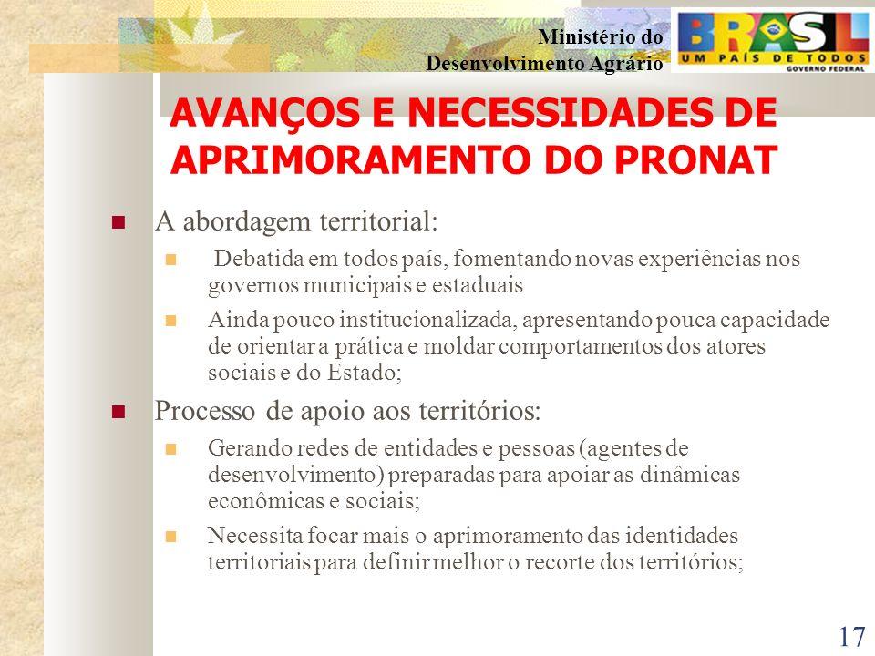 16 Ministério do Desenvolvimento Agrário GRACIAS SDT/MDA PAULO CESAR ARNS RNC – Rede Nacional de Colaboradores SDT/MDA/IICA arnspc@yahoo.com.br MEDSON