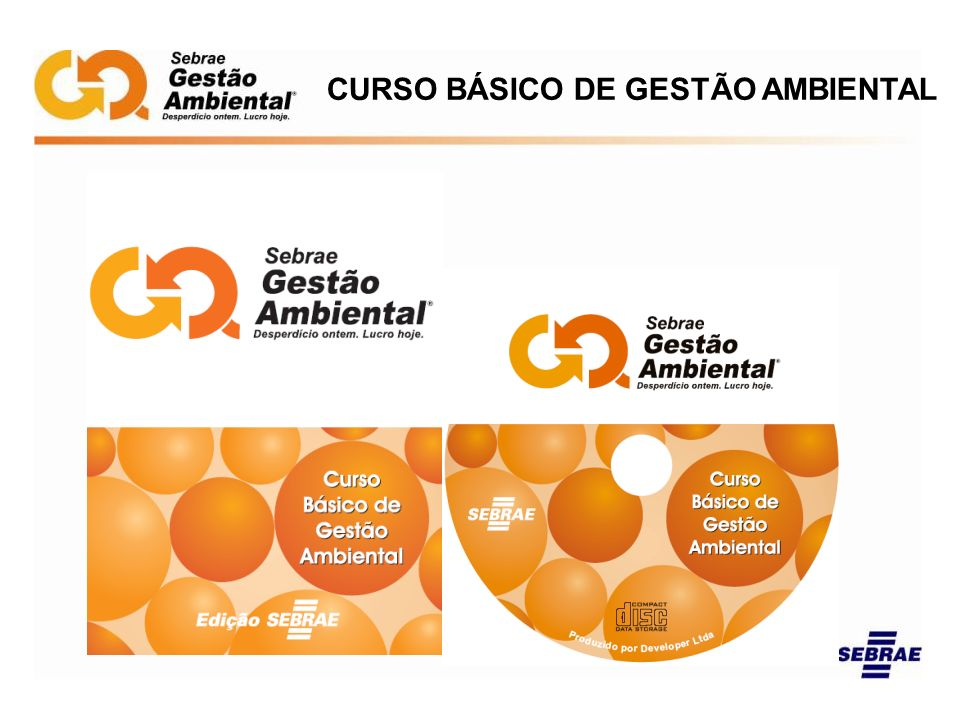 CURSO BÁSICO DE GESTÃO AMBIENTAL