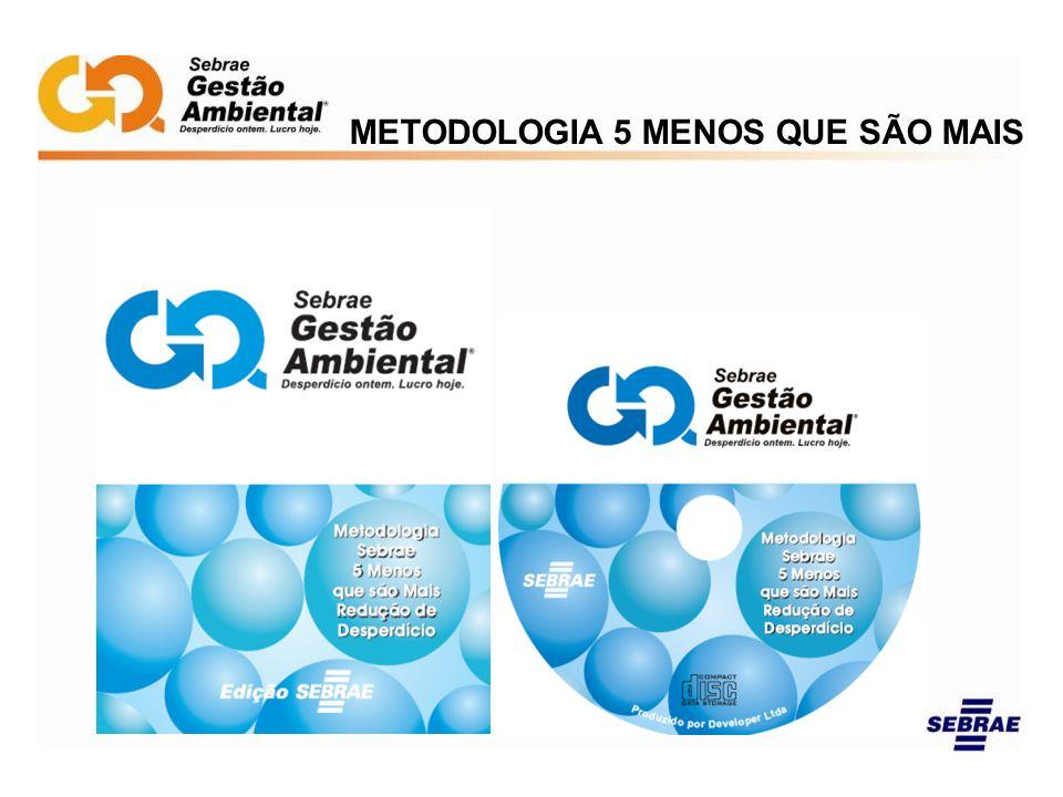 METODOLOGIA 5 MENOS QUE SÃO MAIS