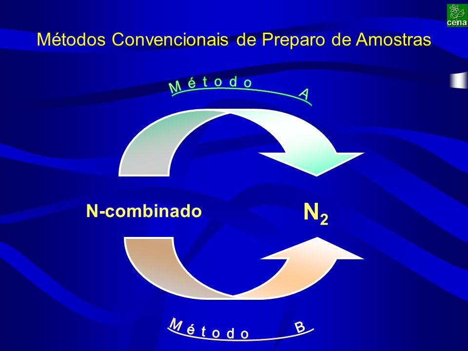 Amostra (20 mL) 10 µL solução padrão Sulfato de Amônio (δ 15 N = +20 % o ) Testes do Método