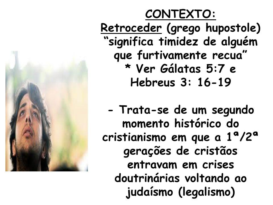 1- REMÉDIO PARA NÃO RETROCEDER: Ajustar o foco de nossa vida em Deus: - Paulo (I Coríntios 1:17): seu foco era pregar, não batizar; - Apóstolos (Atos 6:4): o foco era oração e Palavra, não Ação Social - Moisés (Êxodo 32: 9-10): Deus prova à Moisés para ver se seu foco era ainda levar o povo à Terra Prometida