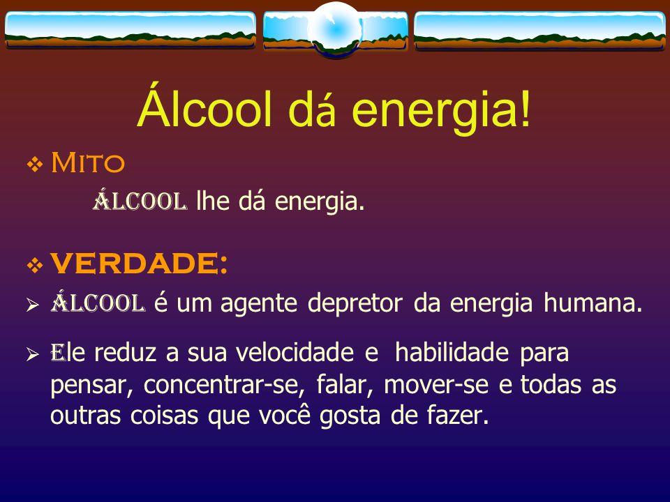 Trocar de bebida alcooliza mais.