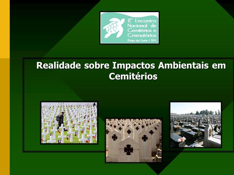 Sepultamento de qualidade Há dois anos, um cidadão comum denunciou ao Ministério Público de Curitiba a existência de um líquido que saía do cemitério e avançava às margens de um rio local.