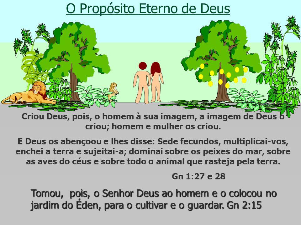 O Propósito Eterno de Deus Como Deus fez ?