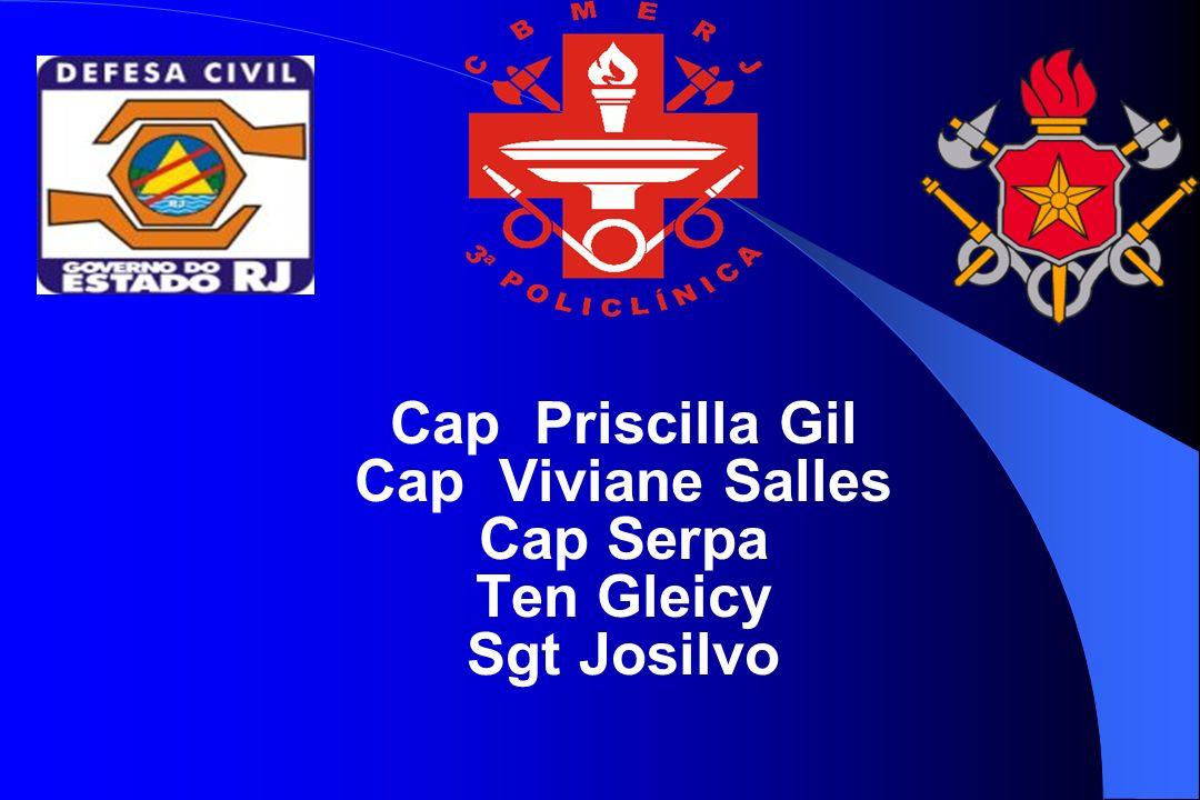 Cap Priscilla Gil Cap Viviane Salles Cap Serpa Ten Gleicy Sgt Josilvo