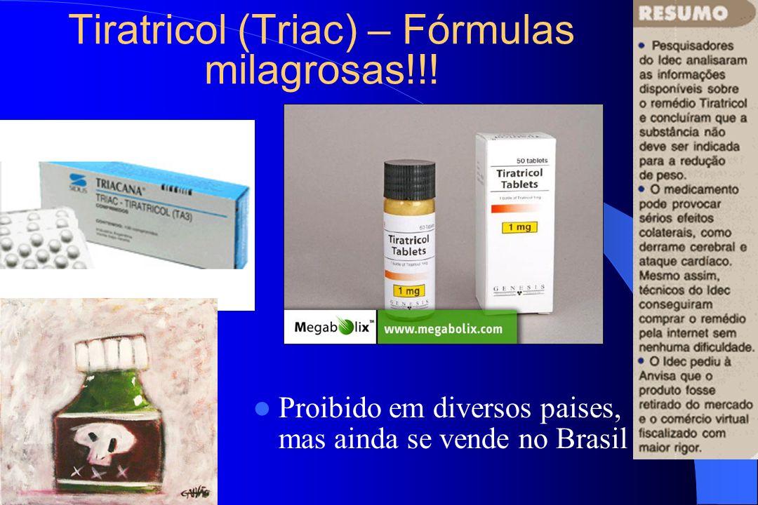 Tiratricol (Triac) – Fórmulas milagrosas!!! Proibido em diversos paises, mas ainda se vende no Brasil