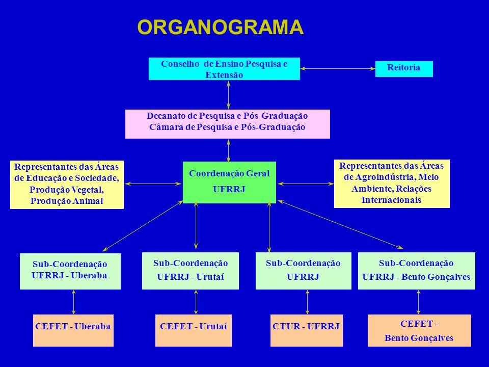 Conselho de Ensino Pesquisa e Extensão Decanato de Pesquisa e Pós-Graduação Câmara de Pesquisa e Pós-Graduação Coordenação Geral UFRRJ Representantes