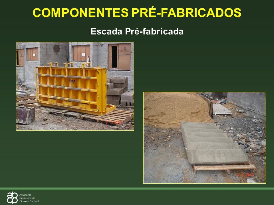 Escada Pré-fabricada COMPONENTES PRÉ-FABRICADOS