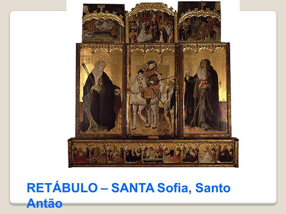 RETÁBULO – SANTA Sofia, Santo Antão