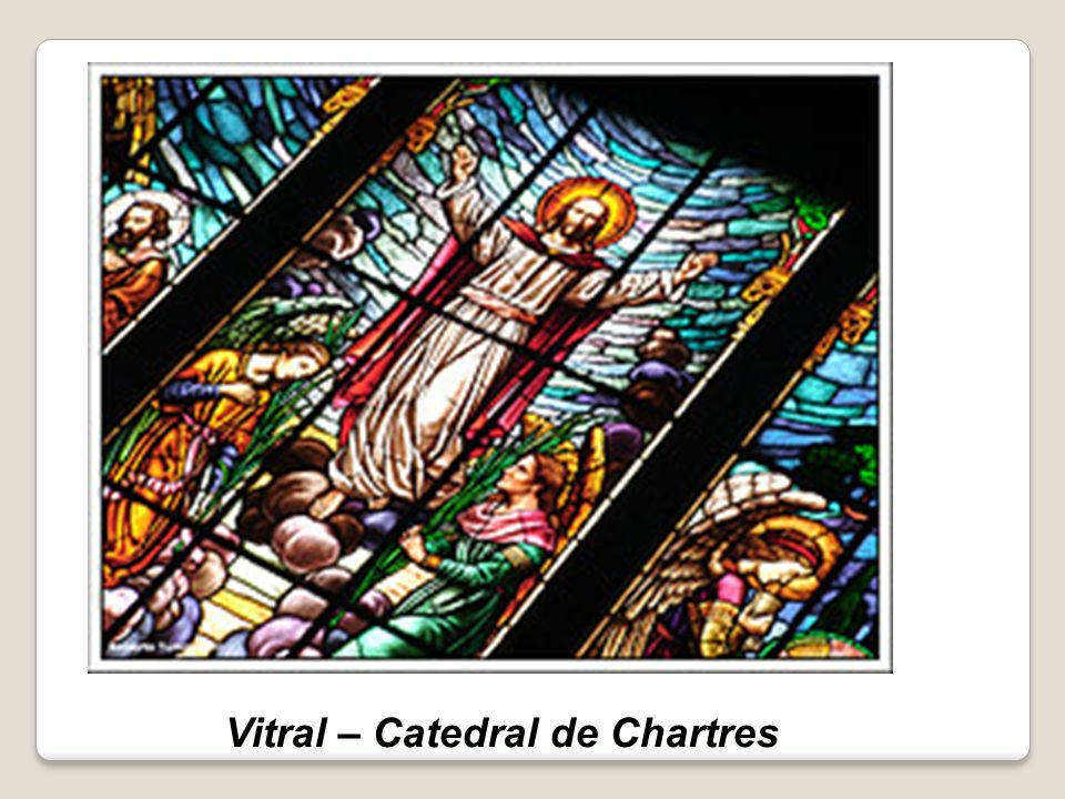 Vitral – Catedral de Chartres