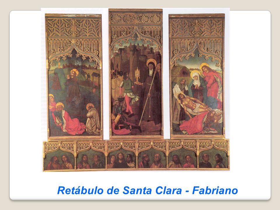 Retábulo de Santa Clara - Fabriano