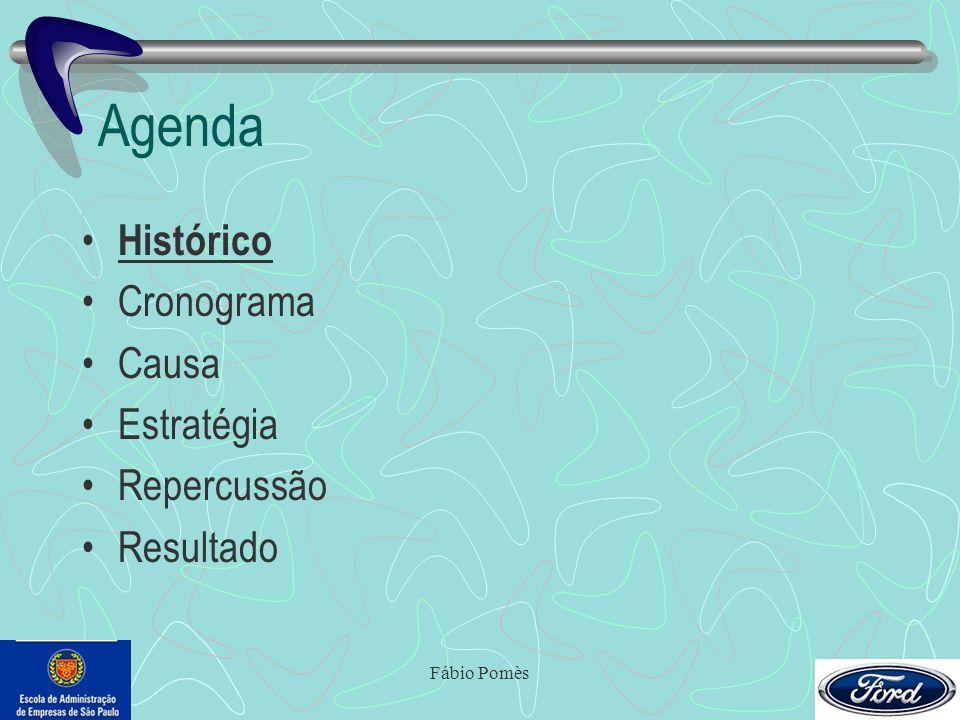 Fábio Pomès Agenda Histórico Cronograma Causa Estratégia Repercussão Resultado