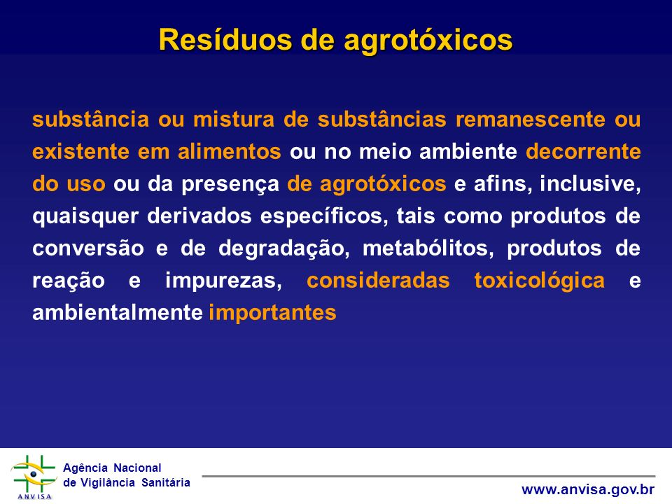 Agência Nacional de Vigilância Sanitária www.anvisa.gov.br RESULTADOS ANALÍTICOS - 2008 Total de amostras analisadas: 1773