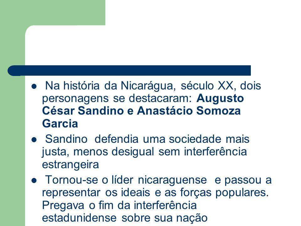 Augusto César Sandino Anastácio Somoza Garcia