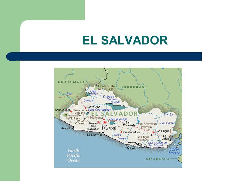 Em El Salvador a influência dos EUA era forte, por isso na crise de 1929 nos EUA, seus efeitos foram sentidos Em 1931 Araújo Lima do PT, foi eleito, em menos de um ano sofreu um golpe e os miltares assumiam um governo antidemocrático Em 1932,houve uma reação popular contra a ditadura do governo que ignorava as necessidades da população A reação do governo foi violenta, morreram cerca de 30 mil pessoas.