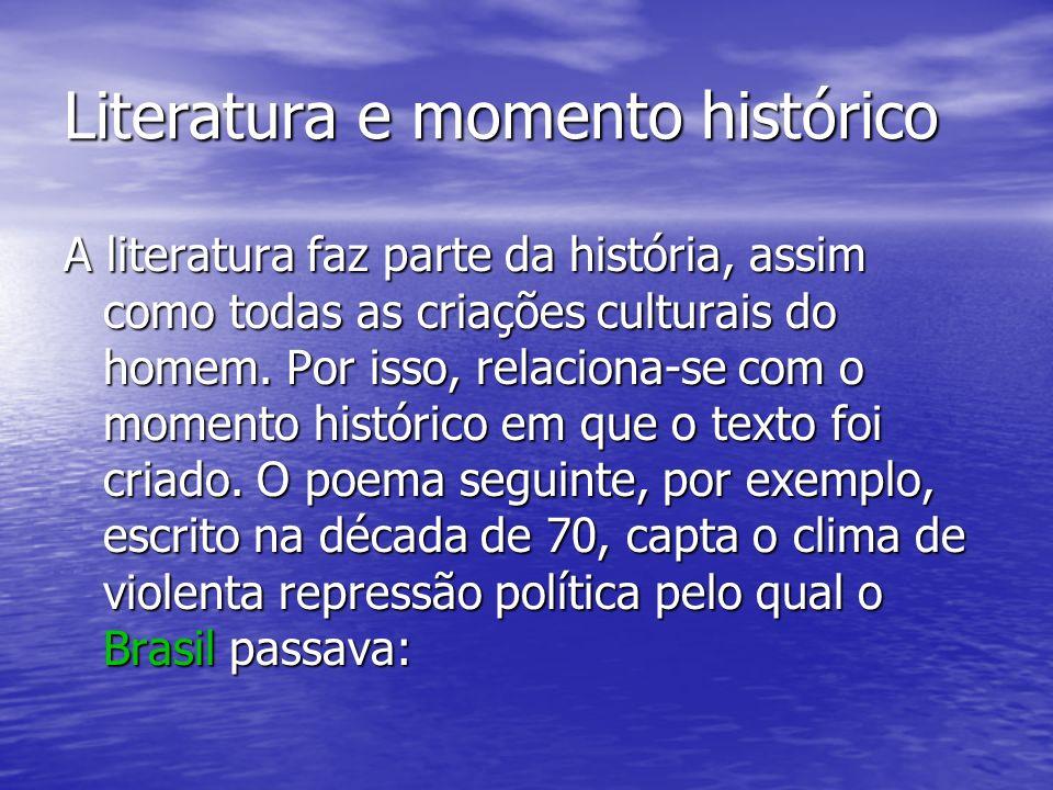 O objetivo da história da literatura é o conhecimento organizado: Da origem da literatura de um país, Da origem da literatura de um país, Dos temas pr