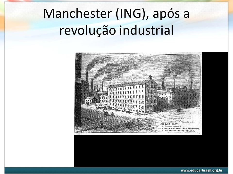 Manchester (ING), após a revolução industrial