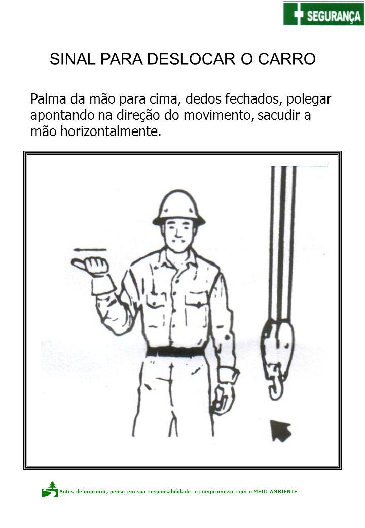 Antes de imprimir, pense em sua responsabilidade e compromisso com o meio ambiente Elaboração: Claudio F.P. dos Santos Palma da mão para cima, dedos f