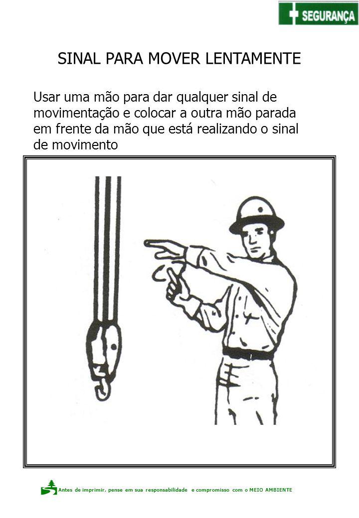 Antes de imprimir, pense em sua responsabilidade e compromisso com o meio ambiente Elaboração: Claudio F.P. dos Santos Usar uma mão para dar qualquer