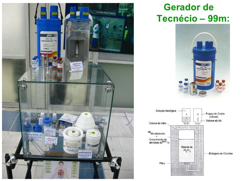 Gerador de Tecnécio – 99m: