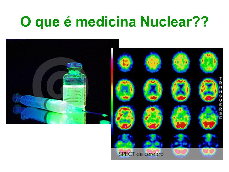 O que é medicina Nuclear??