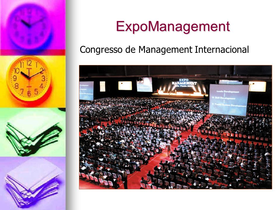 Exposição com 80 Expositores sobre gestão