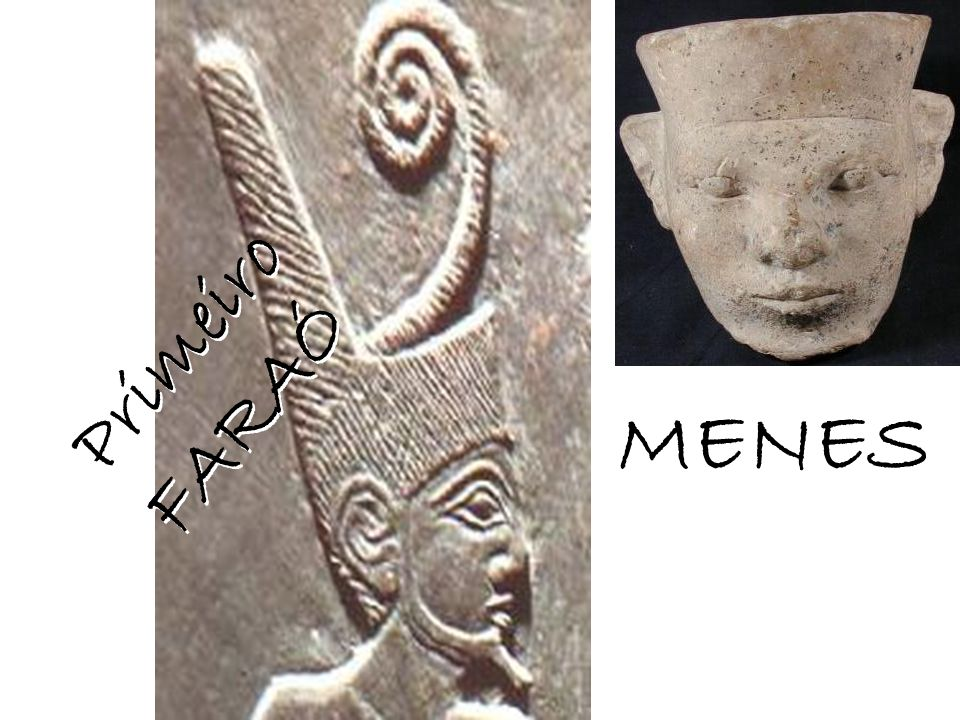 A Coroa Branca do Alto Egito, com uma serpente que era o emblema real.