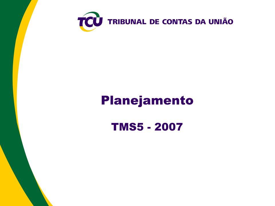 Planejamento TMS5 - 2007