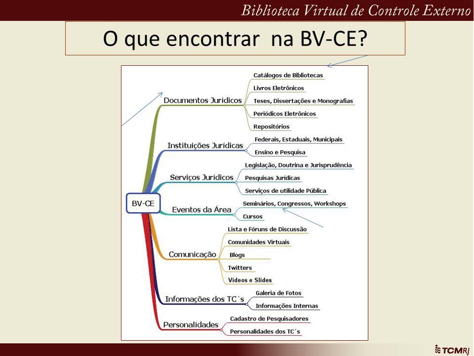O que encontrar na BV-CE?