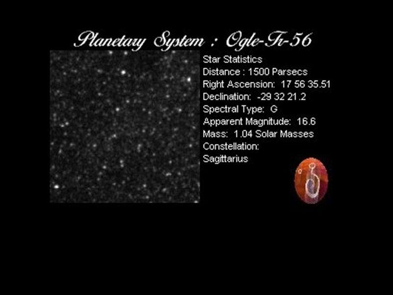 Estrela de magnitude ~ 17
