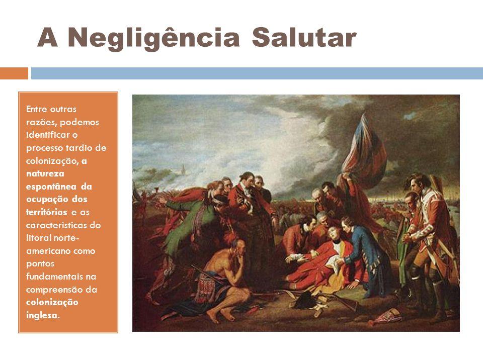 A Negligência Salutar Entre outras razões, podemos identificar o processo tardio de colonização, a natureza espontânea da ocupação dos territórios e a