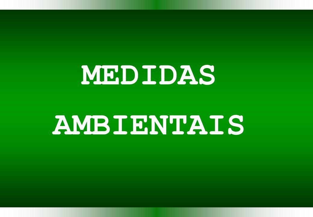 MEDIDAS AMBIENTAIS