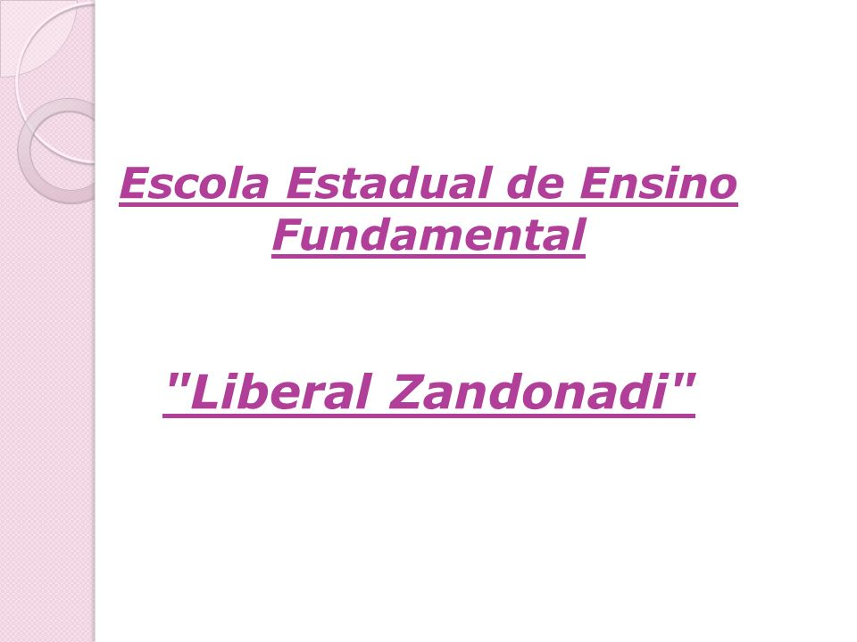 Escola Estadual de Ensino Fundamental