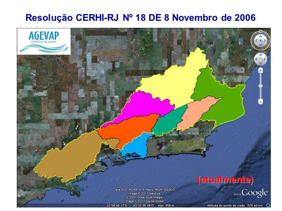 Resolução CERHI-RJ Nº 18 DE 8 Novembro de 2006 (atualmente)