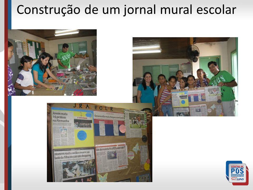 Construção de um jornal mural escolar