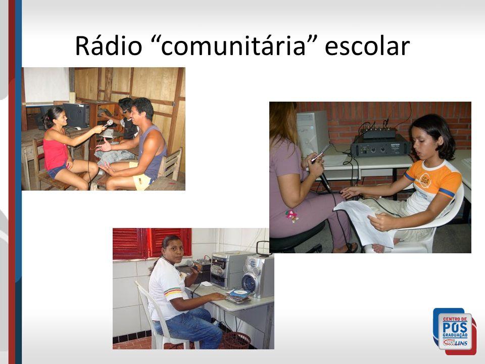 Rádio comunitária escolar
